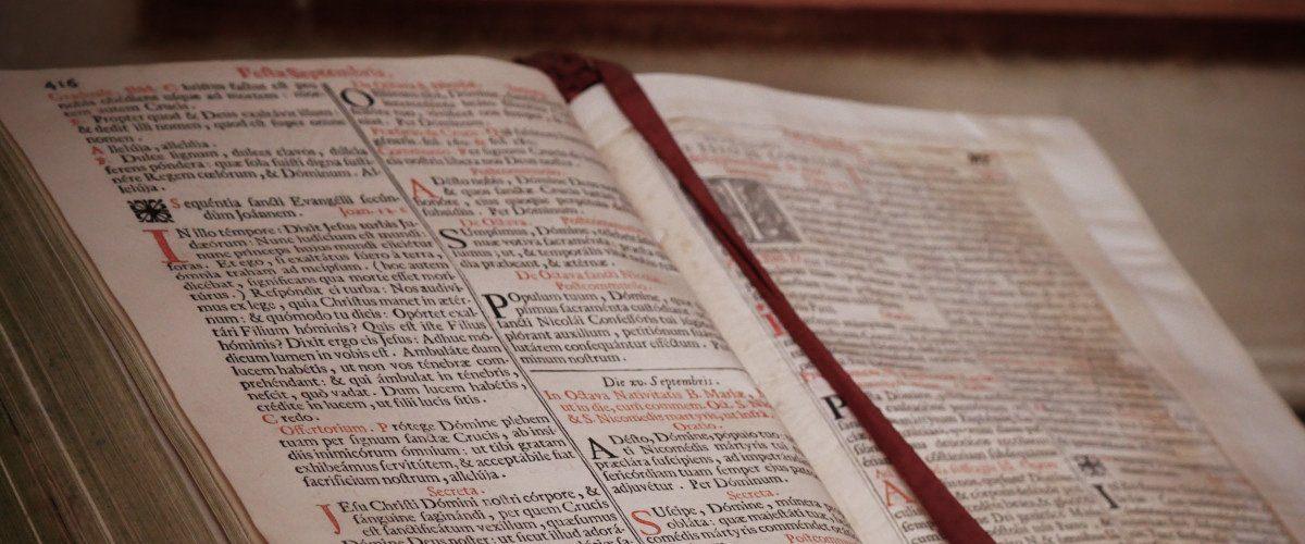 bibbia vita nel monastero