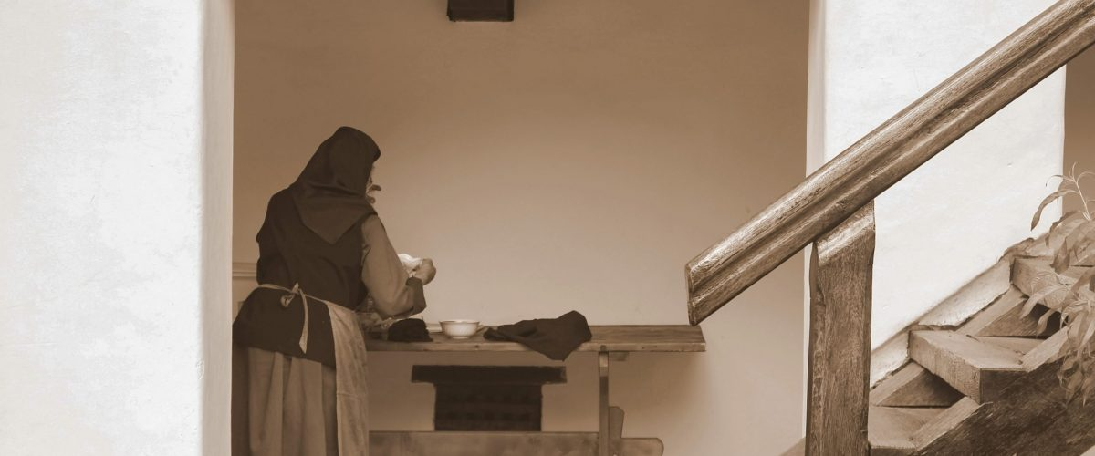 suora lavoro vita nel monastero